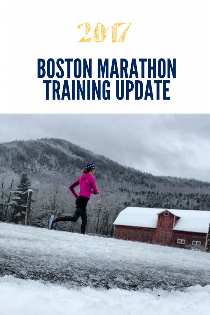 2017 Boston Marathon Training Update Running a marathon