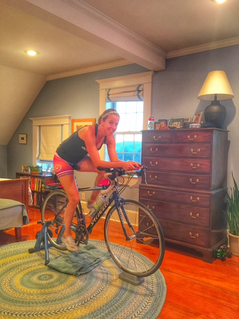 Ride like the wind, Boston Marathon Training update and Half Ironman Training