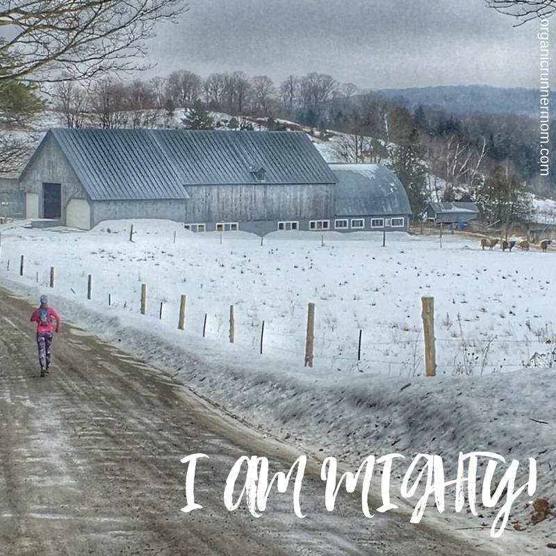 I AM MIGHTY! Running, Triathlon, Motivation