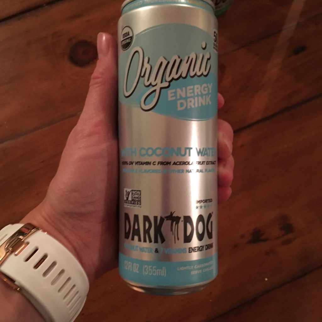Organic Energy Drink with Coconut Water
