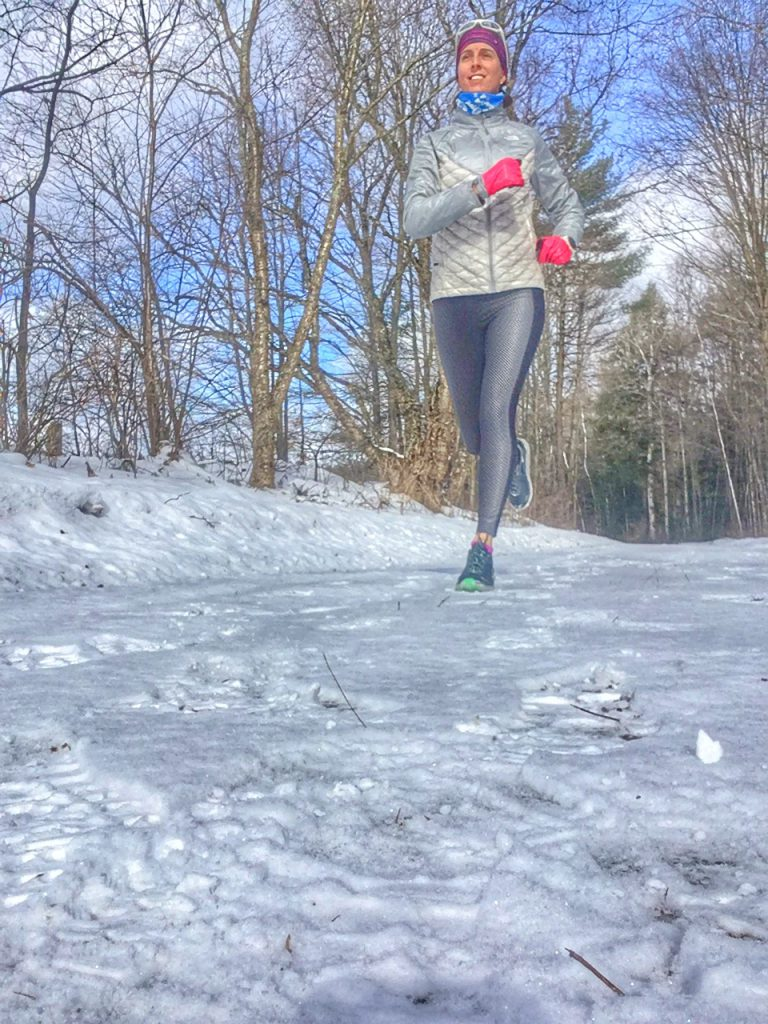 Winter training for the Boston Marathon!!