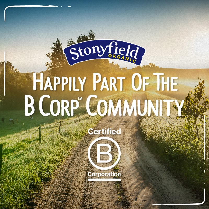 Congratulations to Stonyfield on B Corps Certification!