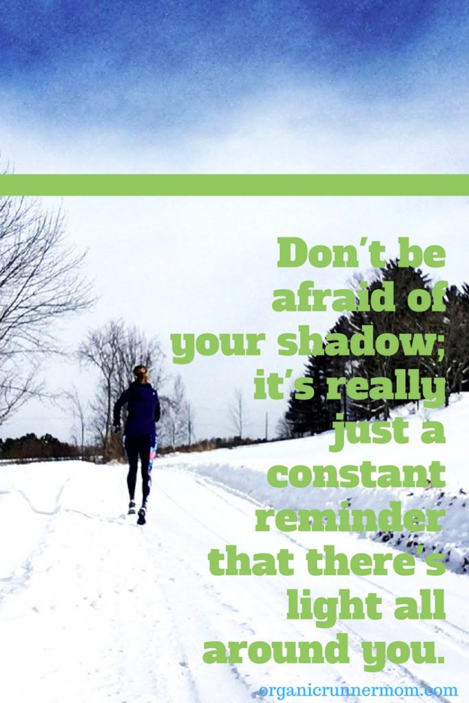 Don't be afraid of your shadow; it's really just a constant reminder that there's light all around you. A discussion about PTSD and the Boston Marathon.