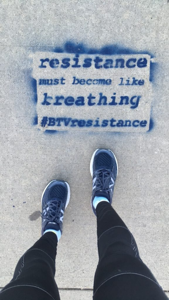 Resistance Must Become Like Breathing