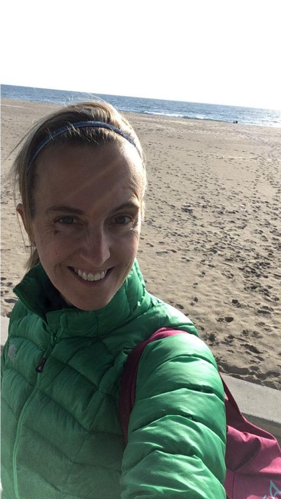 Sunshine at the Ashworth by the Sea in Hampton Beach, NH. Perfect weather for a Boston Marathon Prep race!