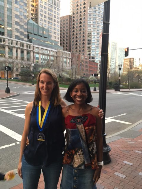 So very thankful for my amazing running friend Natalie from Nat Runs Far from California!