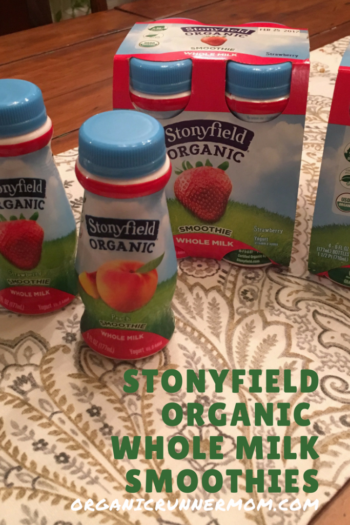 Stonyfield Organic Whole Milk Yogurt Smoothies