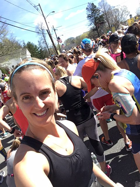 Almost go time Boston Marathon 2017