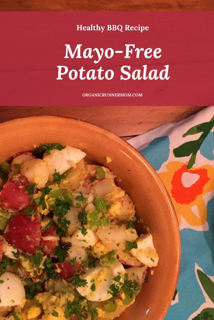 Healthy BBQ Recipe Mayo-Free Potato Salad