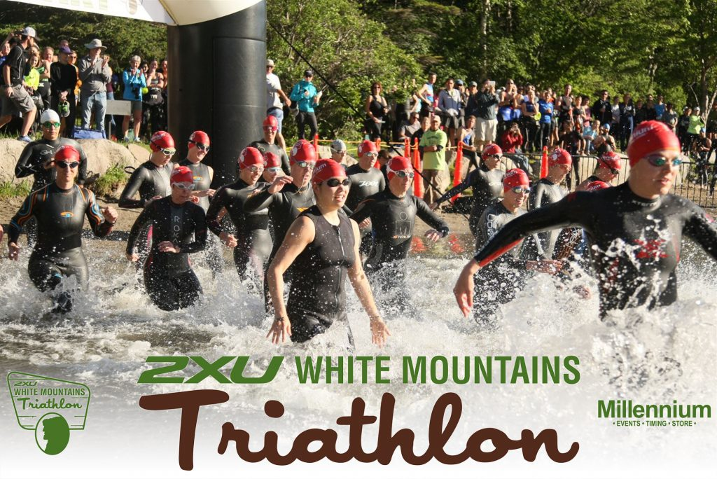 White Mountains Triathlon. The Swim.