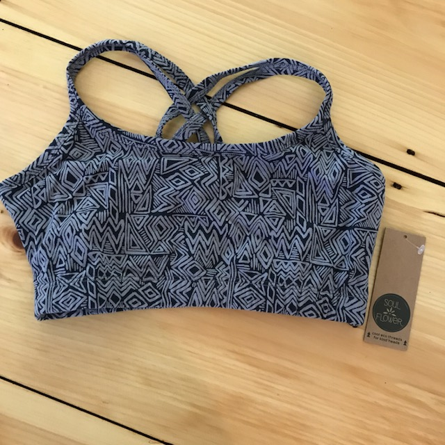 Soul Flower Criss Cross Bralette for Yoga