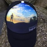 Embrace the Hill Trucker Hat from Run Far Gear