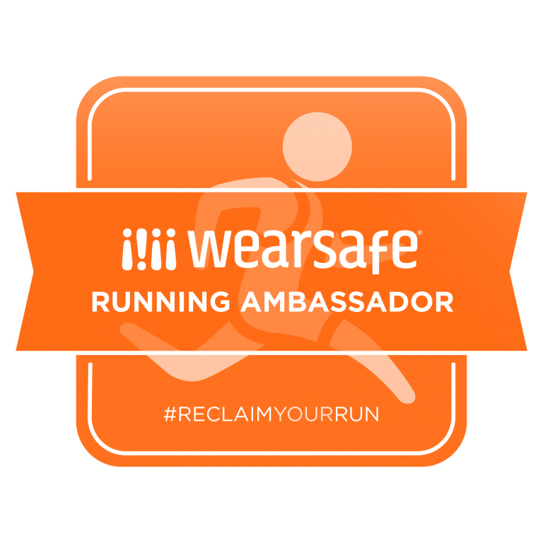 wearsafe running ambassador