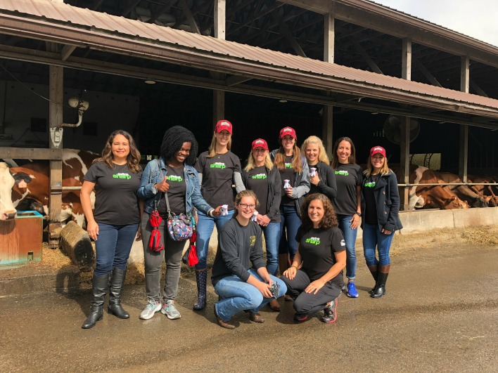 Cabot Fit Team at EMMA Acres Dairy Farm