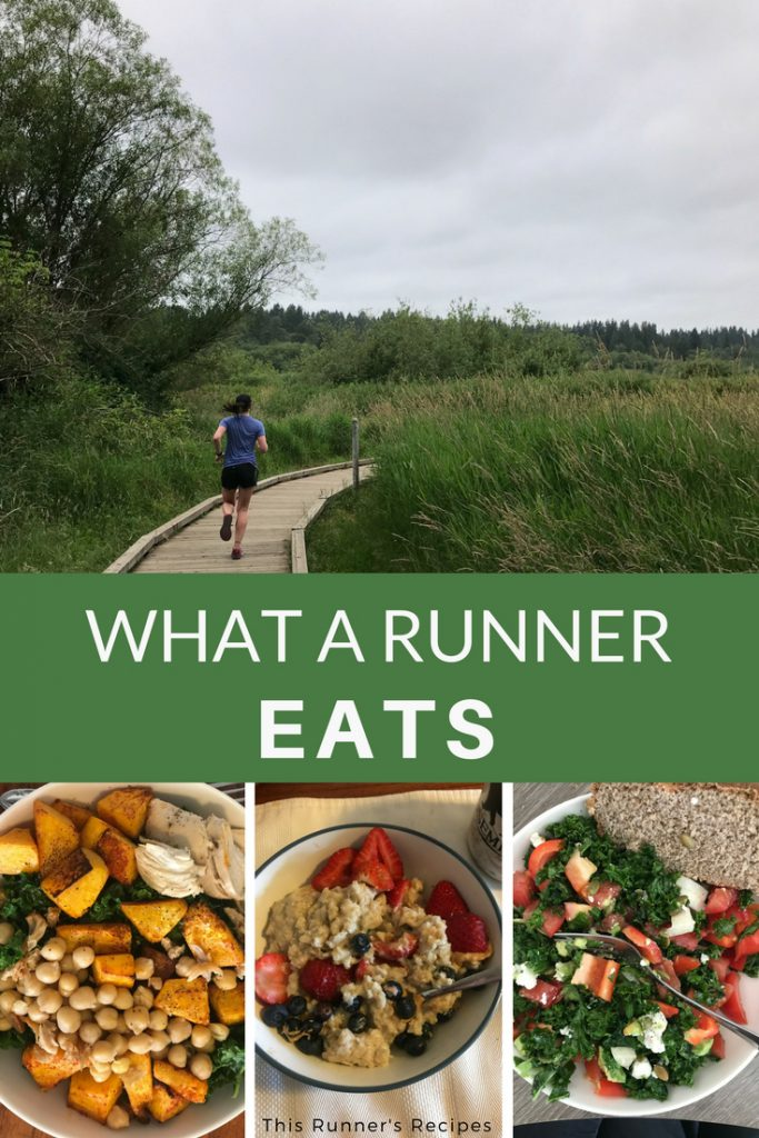 What a Runner Eats Run It