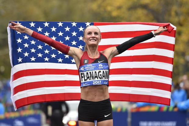 Shalane Flanagan NYC Marathon 2017