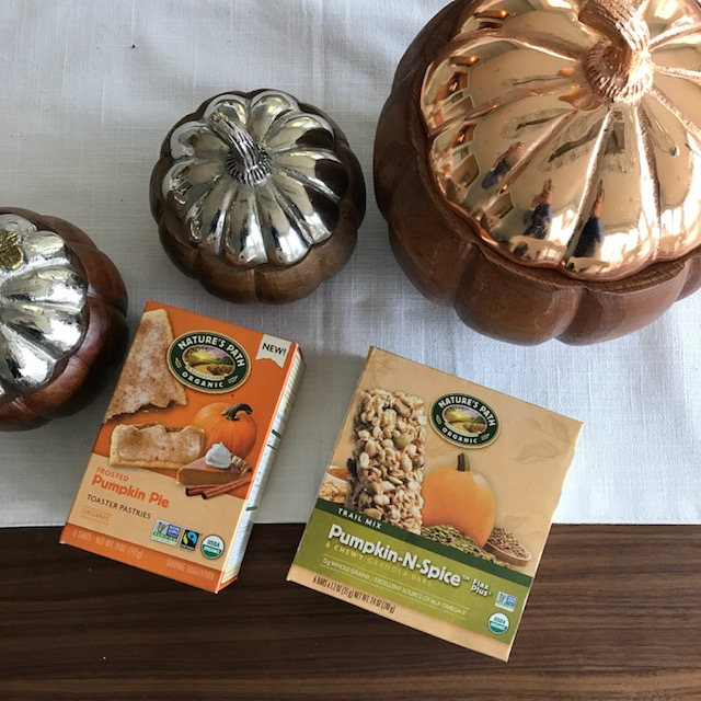 Nature's Path Organic Pumpkin Toaster Pastries and Granola Bars