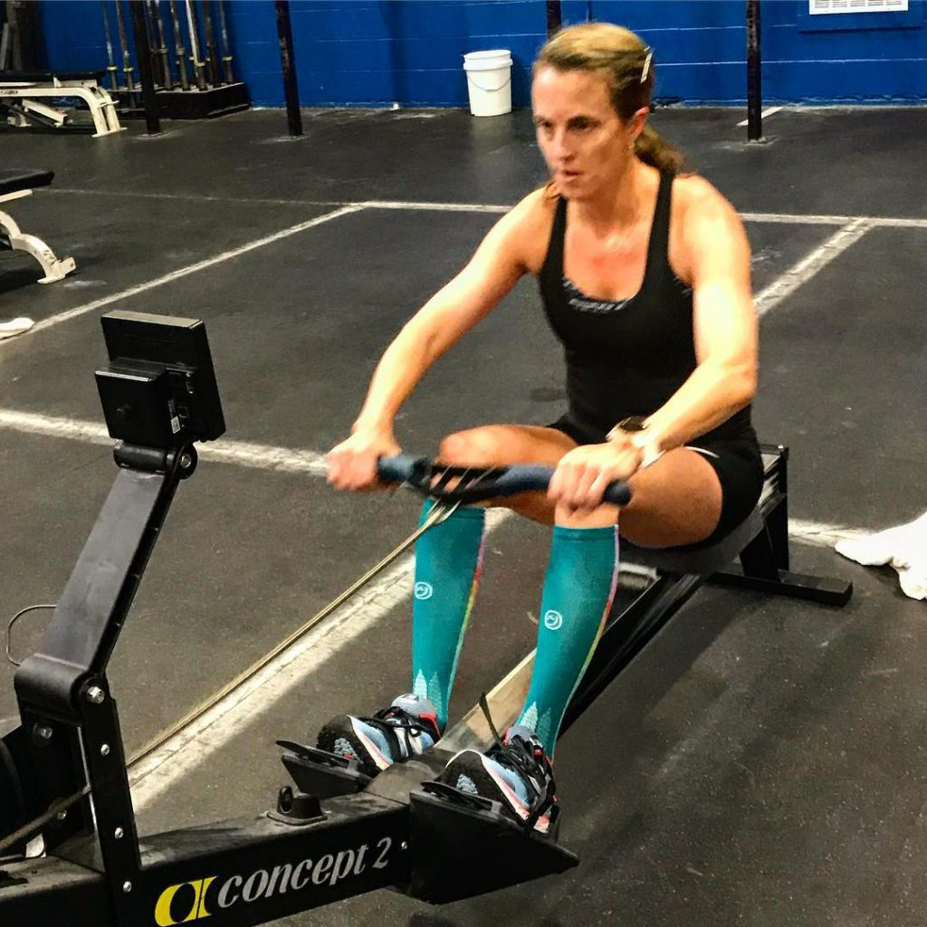 Getting Stronger on the Rower