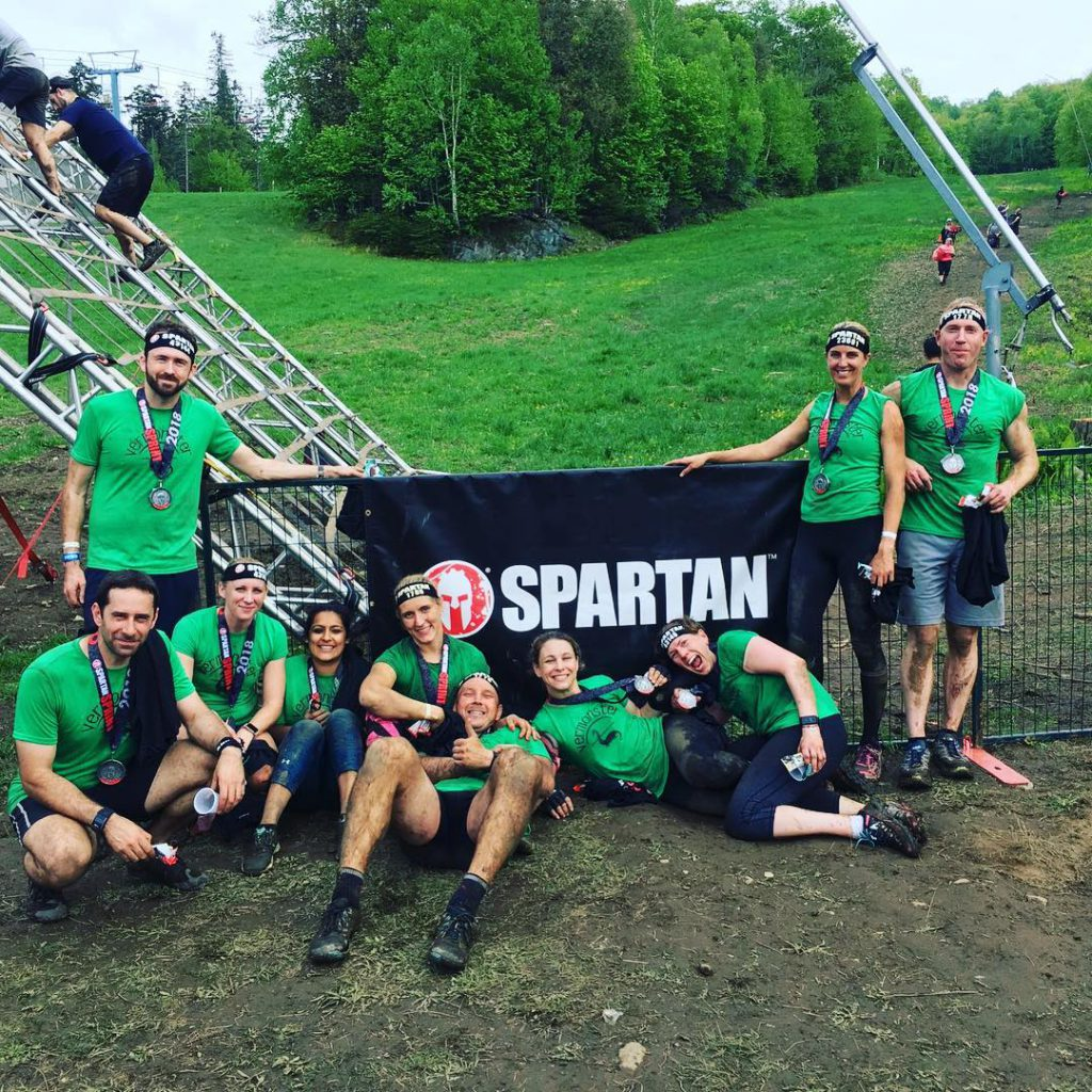 Spartan Sprint Canada, The Vermonsters.