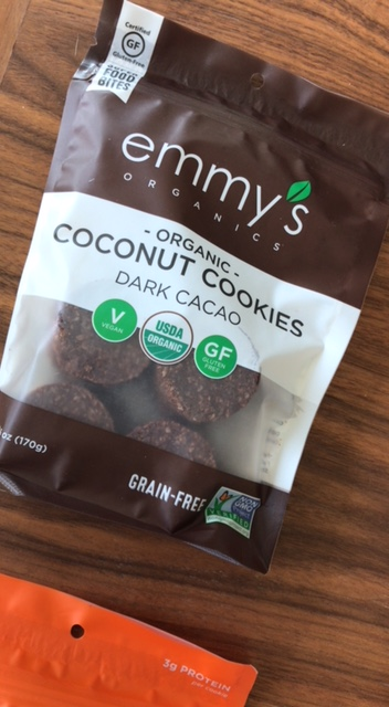 Emmy's Organic Coconut Cookies Dark Cacao