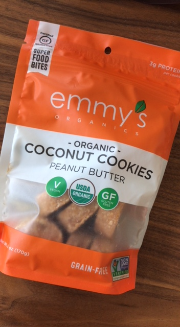 Emmy's Organic Coconut Cookies Peanut Butter