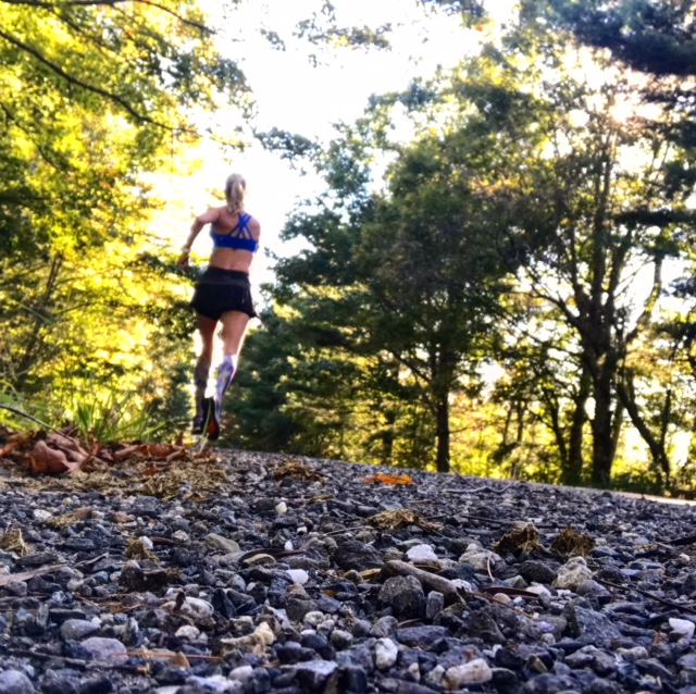 10 miles of fall running bliss