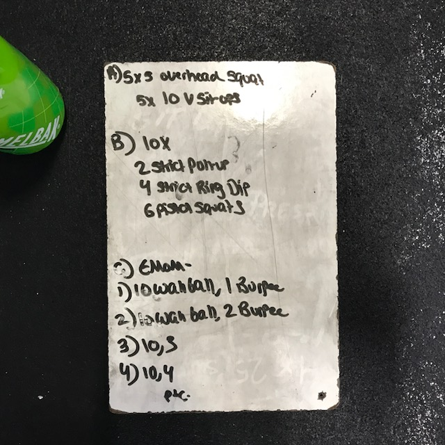 Monday CrossFit Fun