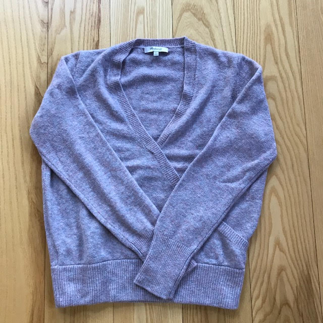 Madewell Wrap Front Pull-over