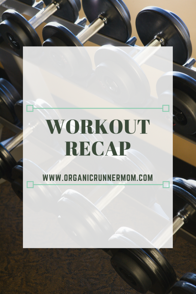 Workout Recap