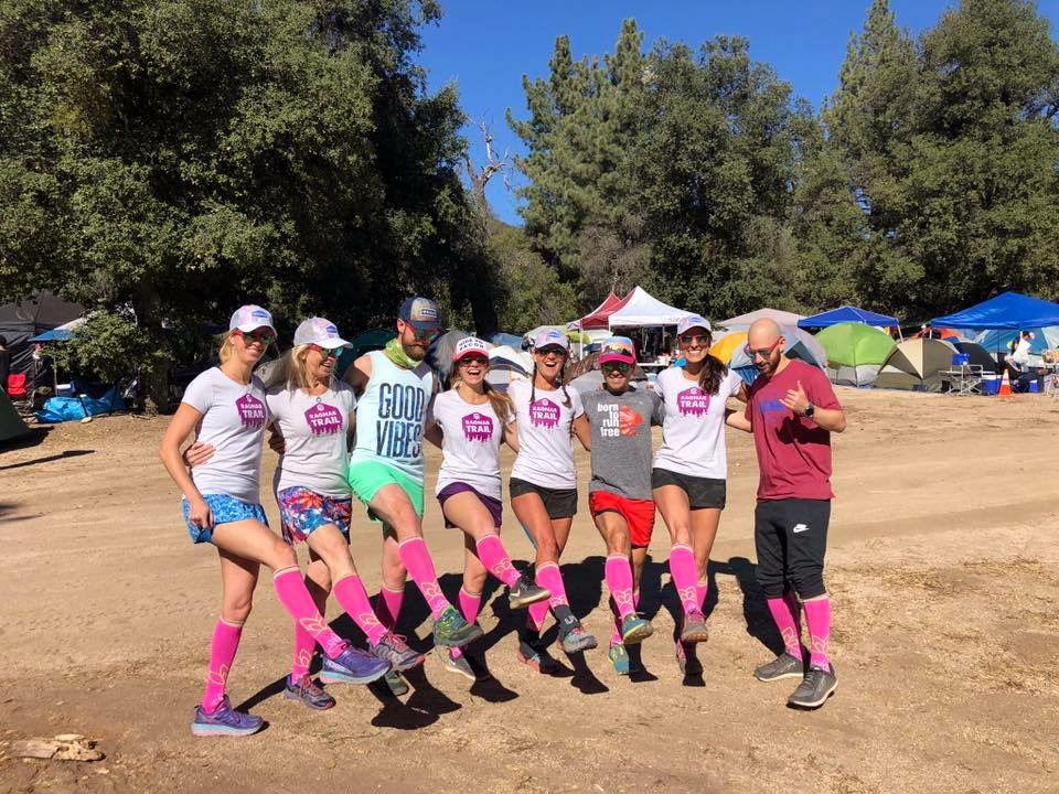 Los Coyotes Ragnar Trail Relay with Team Sweatpink
