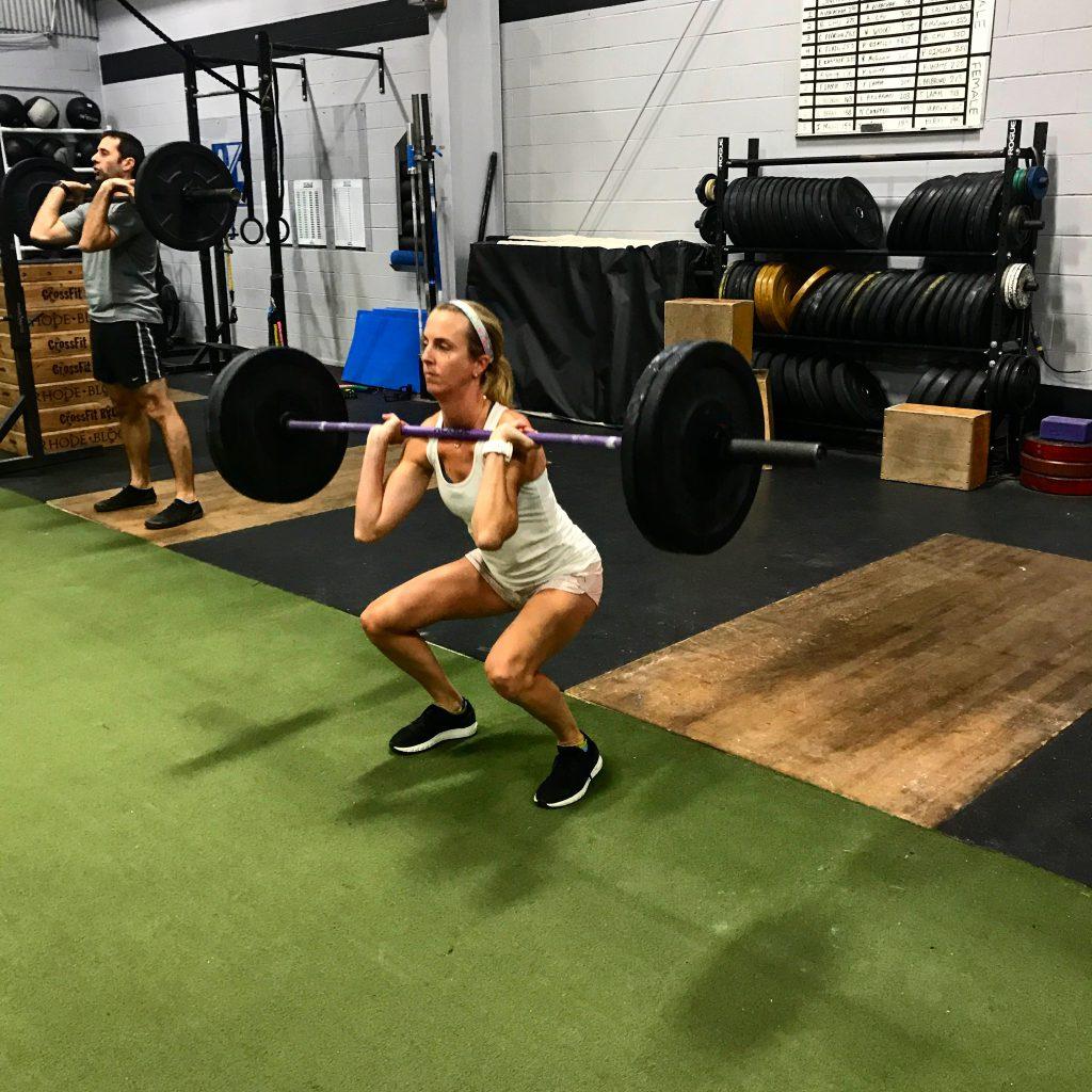 CrossFit Front Squats