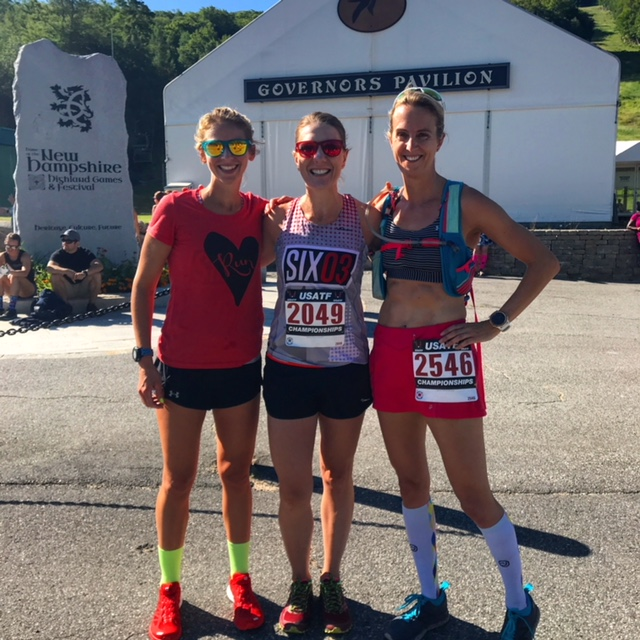 Loon Mountain Race with Run Far Girl and Happy Fit Mama