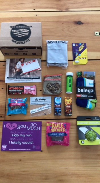 The RunnerBox Valentine's Day Edition