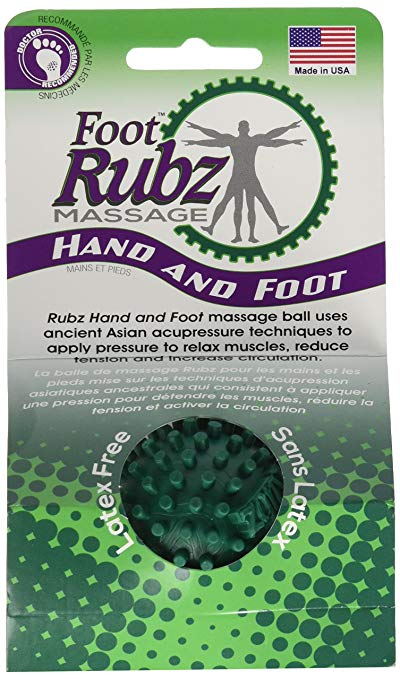 RUBZ Ball, great for getting rid of muscle knots