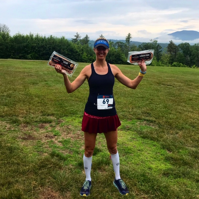 All Out Trail Run First Place winner. Trail running