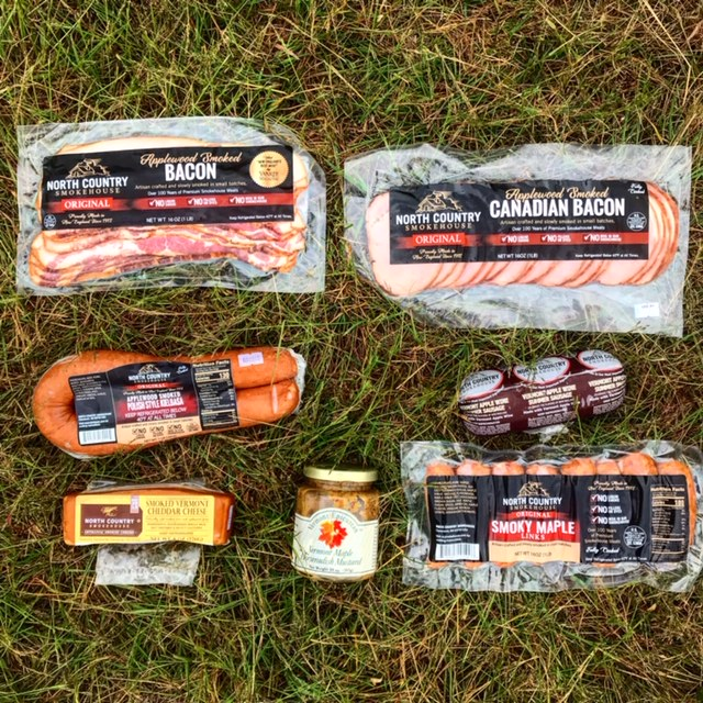 North Country Smokehouse Haul for the First Prize Winner at the All Out Trail Run. Trail Running
