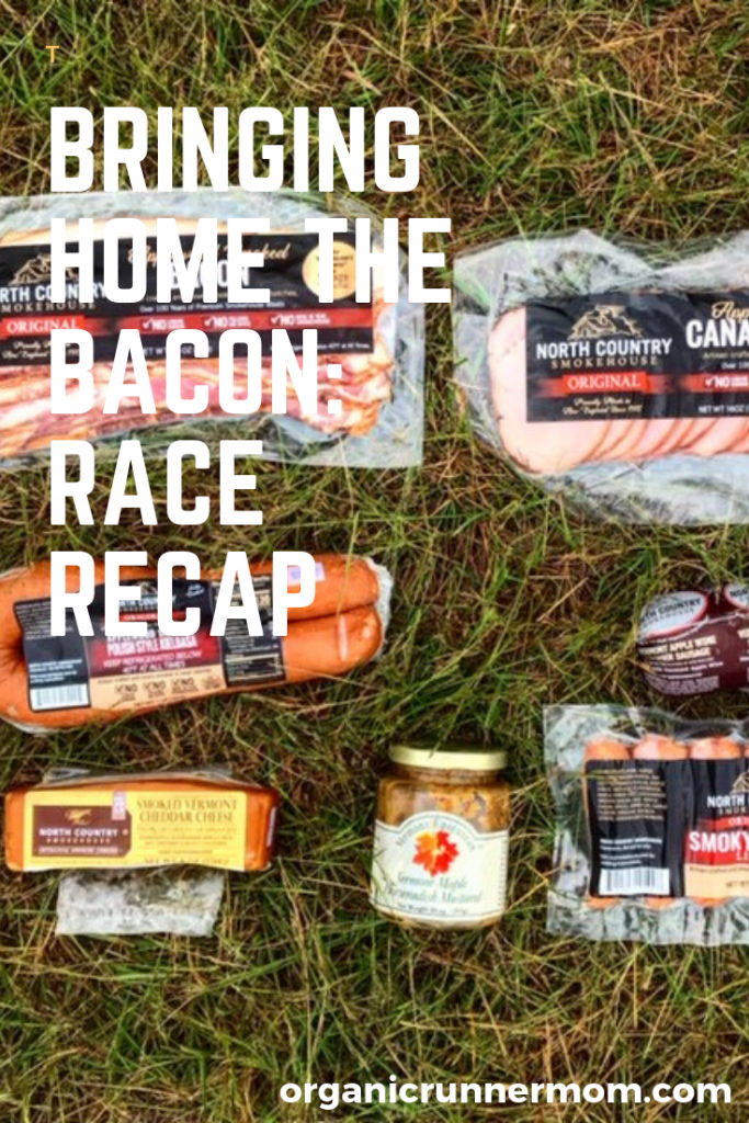 Bringing Home the Bacon. All Out Trail Run Race Recap. Trail Running