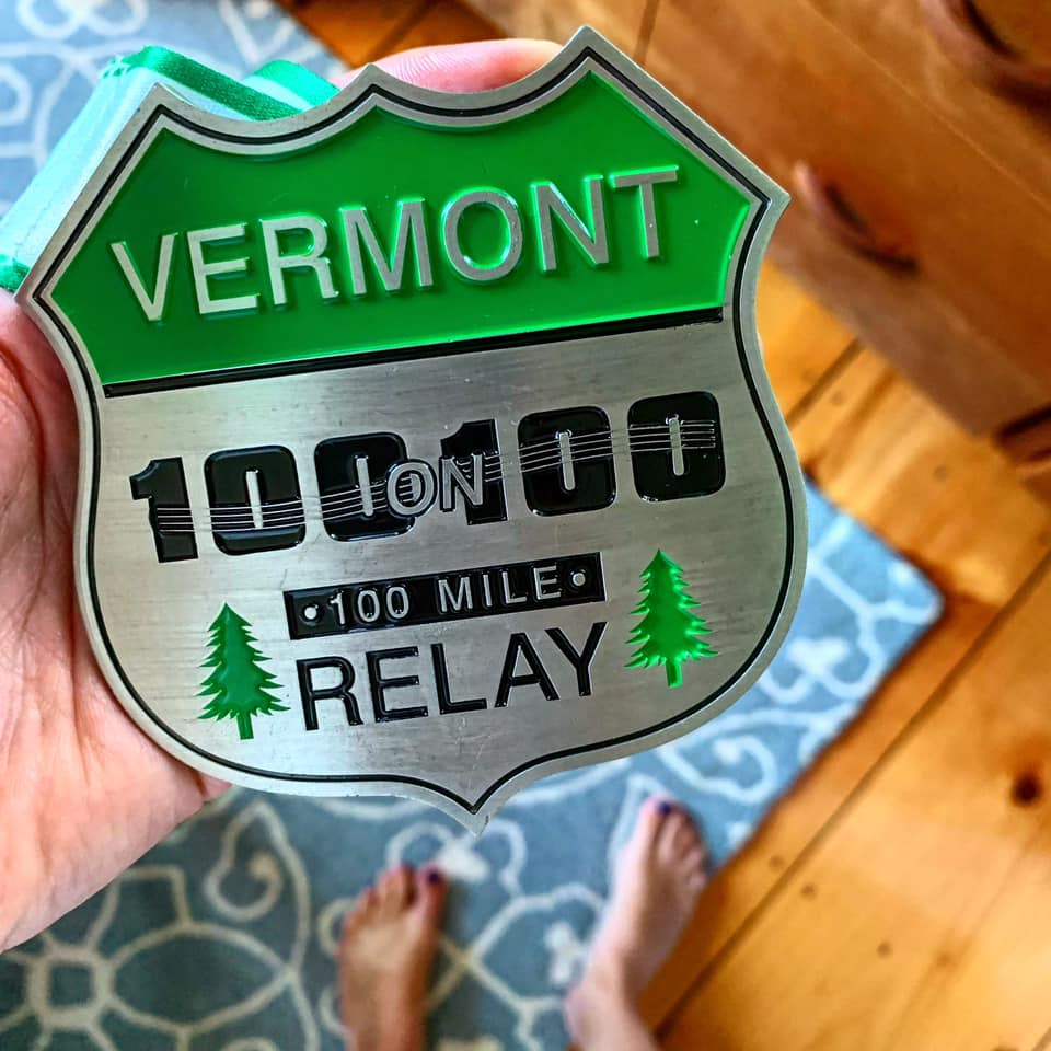 Belt Buckle Bling for the VT 100 on 100 Relay
