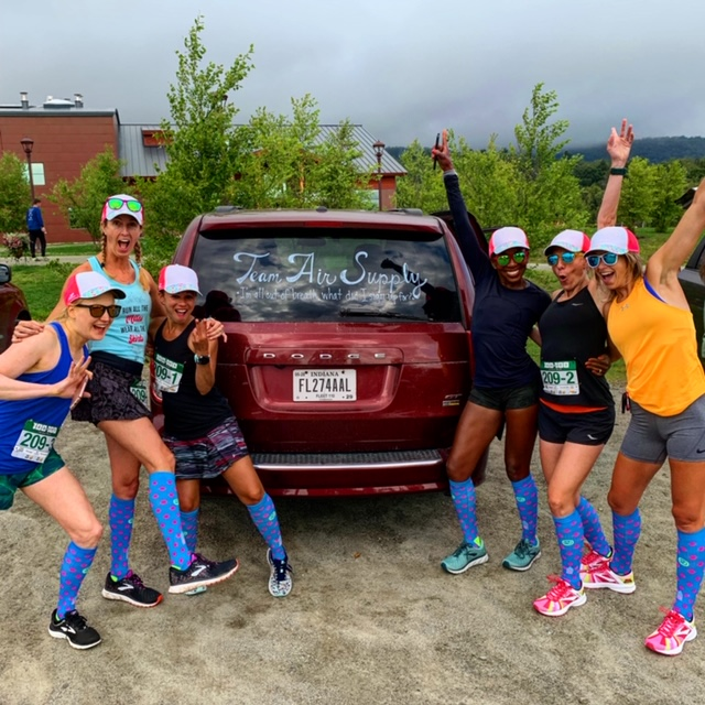Team Air Supply at the VT 100 on 100 Relay 2019