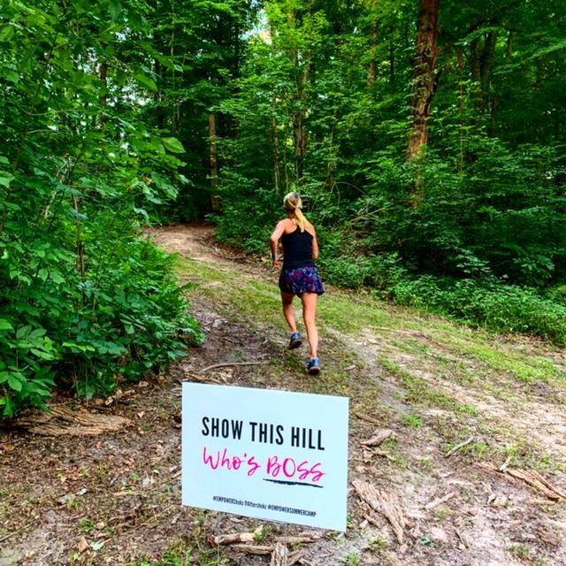 Running at Empower Summer Camp