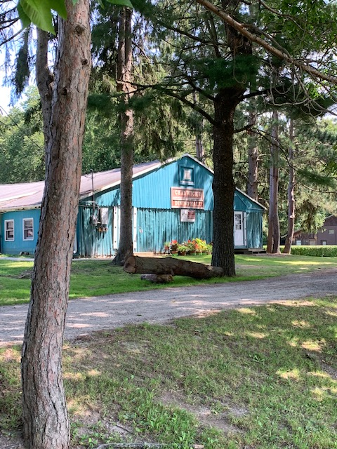Dining Hall at the Ronora Lodge and Retreat Center