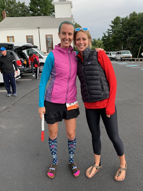 Loved running into this girl at the RTB Relay!!! Sarah Canney, Run Far Girl.
