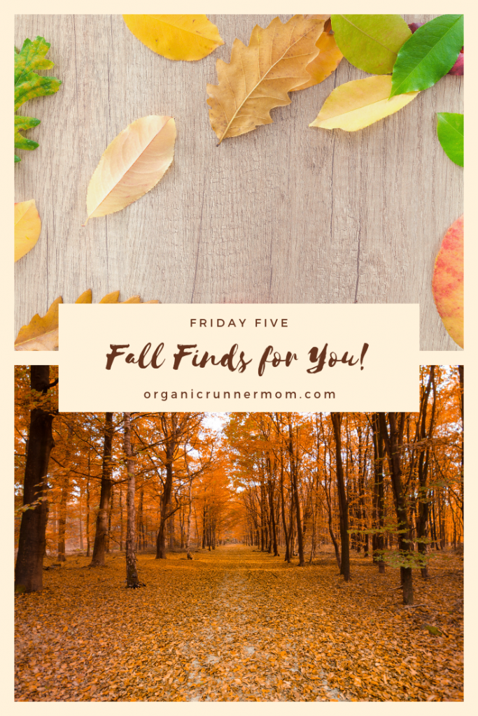 Friday Five: Fall Finds for you!