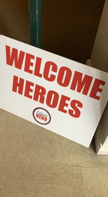 Welcome Heroes!