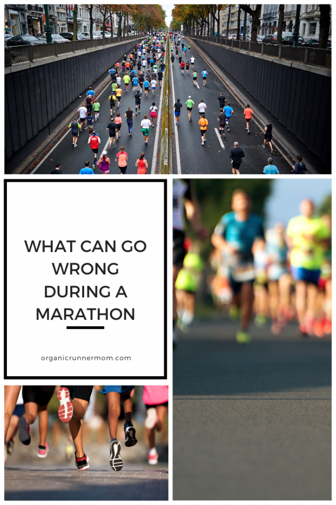 What can go wrong during a marathon.