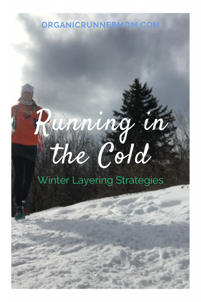 Running in the Cold. Winter Layering Tips.