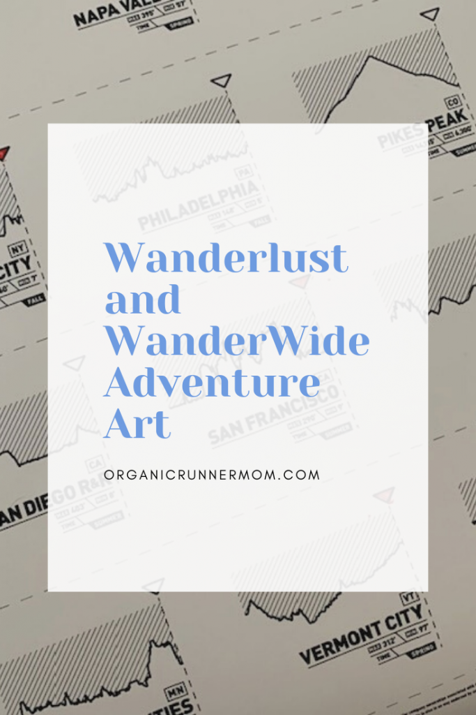 Wanderlust and WanderWide Adventure Art