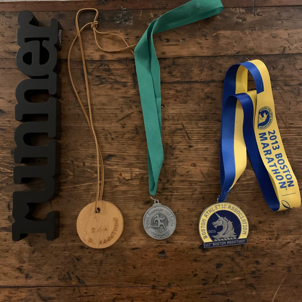 What are your 3 Favorite Running Medals?