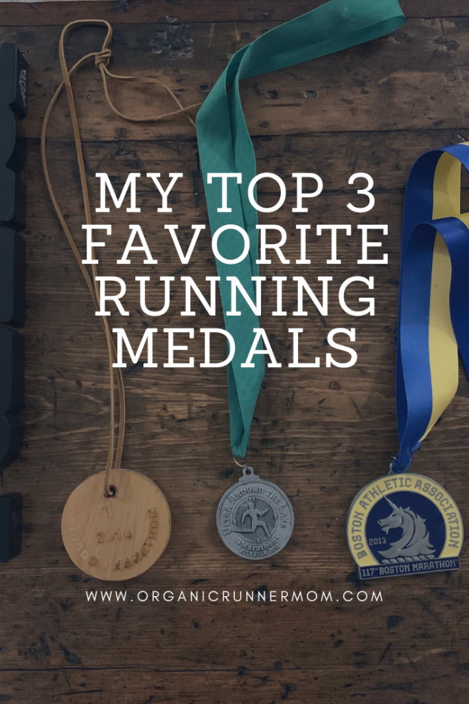 My Top 3 Favorite Running Medals