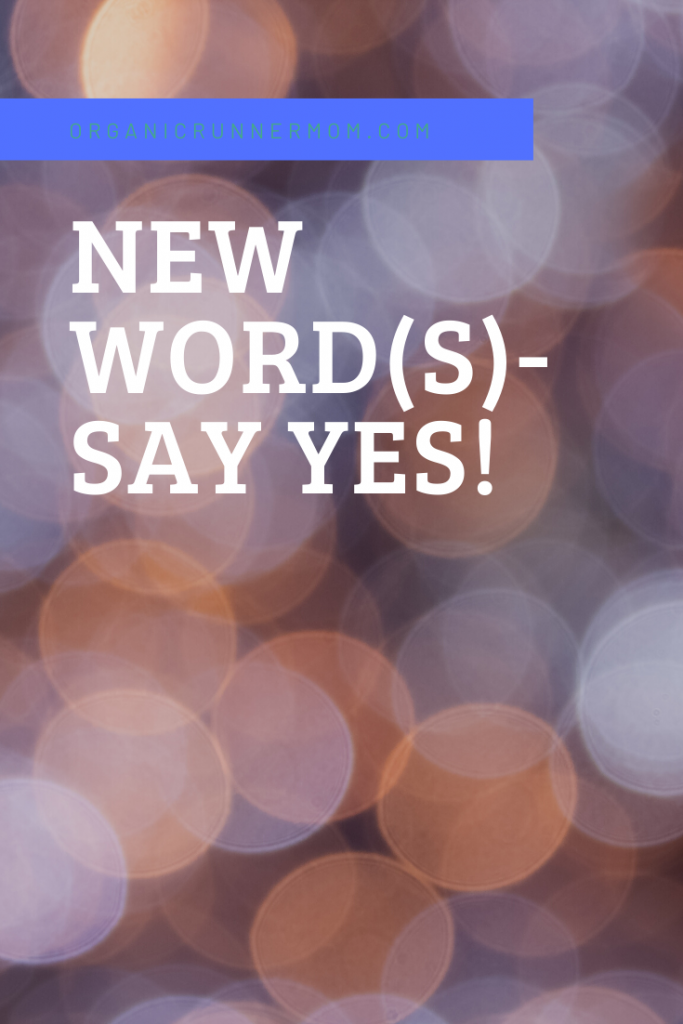 New Word(s). Say Yes!